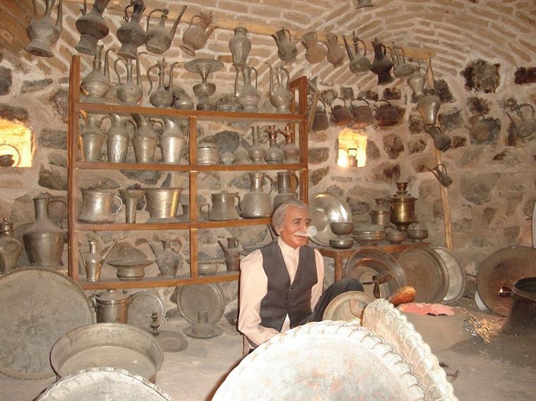 موزه مردم شناسی کاروانسرای ویرانی مشهد 2