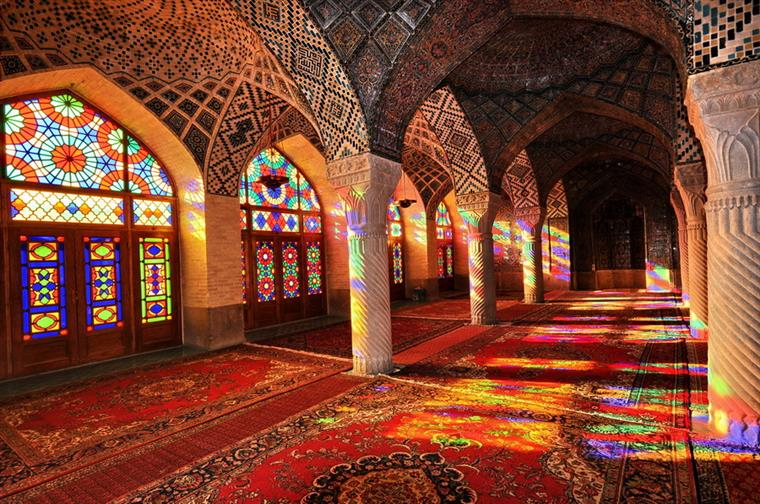 15932 760px مسجد نصیرالملک شیراز